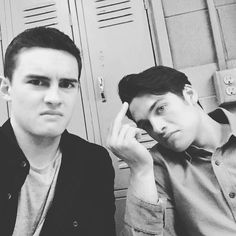 Michael Johnston & Dylan Sprayberry // Teen Wolf BTS
