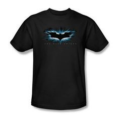 Get this movie high impact burst logo mens t-shirt that drew a lot of attention when it was released as a teaser online in It's a great, simply, elegant design with the words The Dark Knight wri Batman The Dark Knight, Batman Dark, Dc Comics T Shirts, Batman Arkham Origins, The Originals, Mens Tops, How To Wear, Logo, Teaser