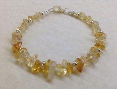 Handmade CITRINE Gemstone Bead BRACELET - CHAKRA Healing Energy Balancing Reiki   eBay