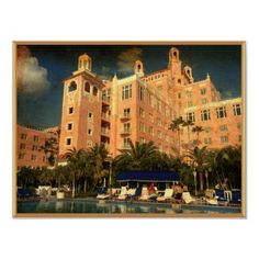 The Don Cesar Hotel in St. Petersburg Beach, Florida