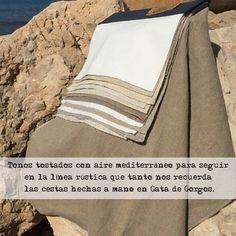 """""""SAM COOKE"""" de la Colección """"JUMP BLUES""""  Tonos tostados con aire mediterráneo para seguir en la línea rústica que tanto nos llena, recordando las cestas hechas a mano en Gata de Gorgos.  #telas #textil #deco #decoracion #nuevacoleccion #tapiceria #tendencia #fabricante #mayorista #musica #melodia #colores #ZE #ZEconzeta #fabrics #textile #Decor #newcolletion"""