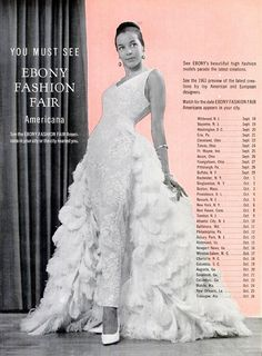 1963 Ebony Fashion Fair Tour- Great memories seeing the beautiful Models at The Ford Auditorium in Detroit,MI in the 60's.