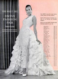 1963 Ebony Fashion Fair Tour Schedule
