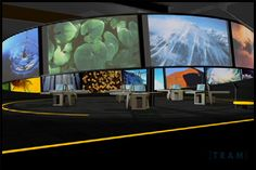 MÉDIA - MUSEOGRAPHY Environmental Design, Museum Exhibition, Design Museum, Design Ideas, Entertainment, Events, Park, Studio, Painting