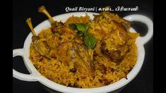 Quail Recipes, Veg Recipes, Chicken Recipes, Cooking Recipes, Quick Rice Recipes, Lunch Box Recipes, Recipes In Tamil, Indian Food Recipes, Indian Lunch Box