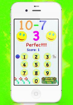 eenvoudige wiskunde voor kinderen van 6-8 - versie gratis voor iPhone 3GS, iPhone 4, iPhone 4S, iPod touch (3de generatie), iPod touch (4e generatie) en iPad in de iTunes App Store