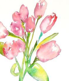 tulip watercolor - Google Search