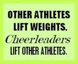 cheerleading is a sport.