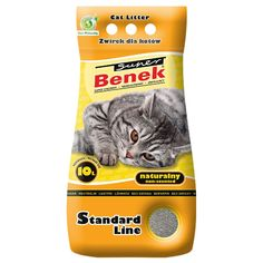 Animalerie  Litière Super Benek Natural pour chat  10 L (environ 83 kg)
