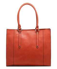 Look at this emilie m. Paprika Jolene Tote on #zulily today!