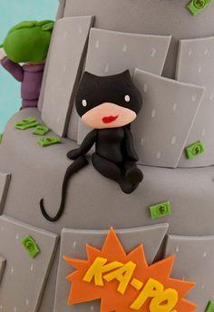 Kid-friendly Catwoman - Batman Cake