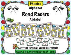 Road Racers-Alphabet