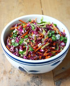 Season with Spice - an Asian Spice Shop: Garden Salad Coleslaw with Asian-style Dressing