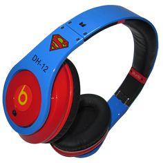 Monster Beats By Dre Studio Headphones Superman