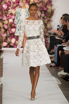 The 28 Best White Dresses That Walked the Spring Runways: Even while we're hauling out our Fall boots and starting to think about which coat to buy this season, we couldn't help but fantasize about the white dresses — all the white dresses — we'll be wearing come Spring.