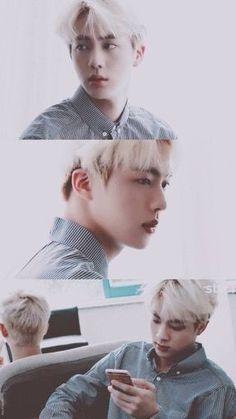blonde haired seokjin is great Seokjin, Kim Namjoon, Kim Taehyung, Bts Jin, Bts Bangtan Boy, Foto Bts, Bts Photo, Billboard Music Awards, Guinness