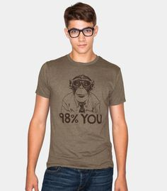 cb8c76b6 98% You (Special Order). Funny TeesFunny TshirtsUnusual GiftsThinking Of ...