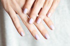 Polished: Topshop Parma Violet - Nouvelle Daily // Kate has perfect hands. Makes me sick.