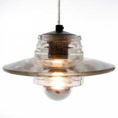 "Pressed Glass Lens Pendant, Pendants & Tom Dixon Pendants   YLighting - 8""D from $370"