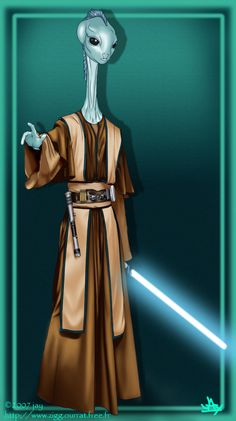 Rhaze Durile- Kaminoian Jedi Master High Councilman Limited term