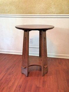 Stickley Brothers Quaint Furniture Co. Hexagonal Oak Taboret Table, USA,  1900s | Pinterest | Tables, Bungalow And Craftsman