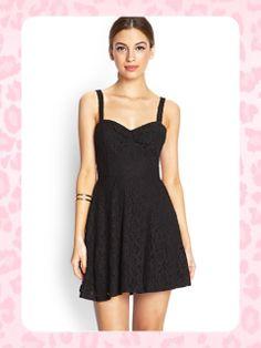 ***AGOTADO***Forever 21 Lace #dress Talla: S Color: Black  Consultas y pedidos llamar al 8963-3317 o escribir al correo maya.boutique@hotmaail.com