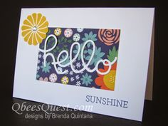Qbee's Quest: One Sheet Wonder Note Cards