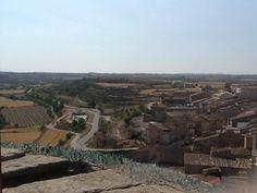 Vall del Cercavis. Des de la Torre del castell de Verdú
