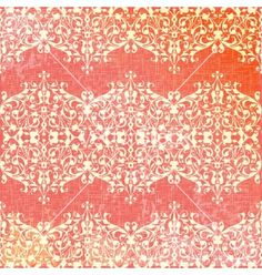 Vintage beige and pink floral seamless pattern vector by antuanetto on VectorStock®