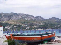Boat on Kokkari beach