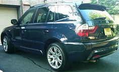 2010 BMW X3 With M Sport Package Monoco Blue Individual Oyster Leather Pic By