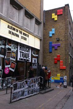 Entire London Street Goes 8-Bit in 'Wreck It Ralph' Takeover - The Denver Egotist