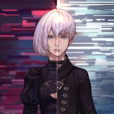 NieR Automata 2B and 9S
