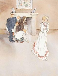 The Canterville Ghost by Lisbeth Zwerger.