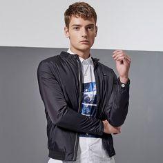 Casual Slim Fit Jacket For Men. Shop Now