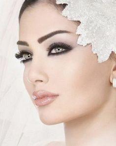 Wedding make up. make-up Bridal Makeup Tips, Best Wedding Makeup, Bridal Beauty, Bridal Hair, Wedding Lips, Wedding Beauty, Bridal Headpieces, Bridal Make Up, Wedding Make Up