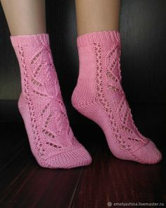 носки, носки спицами, вязание