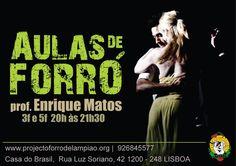 Aulas de Forro- Lisboa - Portugal