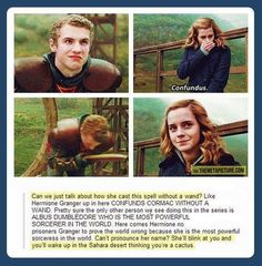 Hermione Granger... the best ever.