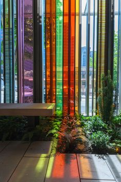 Window detail - Gethsemane Lutheran Church - Olson Kundig Architects