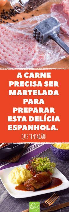 Hoje, partimos para a ensolarada Espanha para buscarmos inspiração em seus temperos. Vem com a gente nessa jornada culinária?  #receita #espanha #chourico #carne #delicia #gostoso #bomapetite #almoco #jantar #videotutorial #culinaria #porco #cozinhar #cozinha