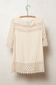 Lacedot Blouse from Anthropology