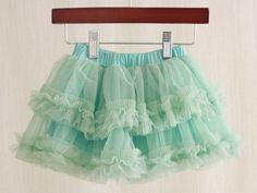 Over the Loom - Mint Green Tutu Skirt, $22.00 (http://www.overtheloom.com/bottoms/mint-green-tutu-skirt/)