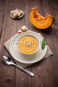 Vellutata di zucca - pumpkin soup