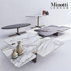 Minotti coffee tables