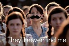 Hahahaha. In laughing louder than I should be! / Hunger Games