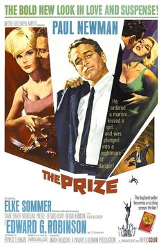 2/13/14 12:57p   MGM   ''The Prize'' Paul Newman, Elke Sommer, Edward G. Robinson  1963