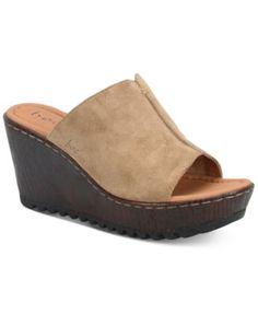 64fb32666 b.o.c. Teah Wedge Sandals Shoes - Sandals   Flip Flops - Macy s