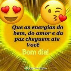 Imagens de Bom dia para compartilhar no Facebook, CLIQUE e veja mais. Smiley Emoji, Good Afternoon, My Emotions, Line Sticker, Messages, Words, Top Imagem, Facebook, Crepes