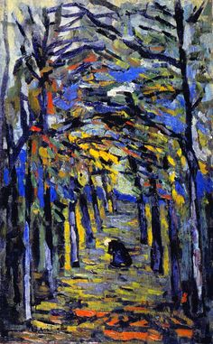 wonderingaboutitall:  In The Woods -   Maurice de Vlaminck
